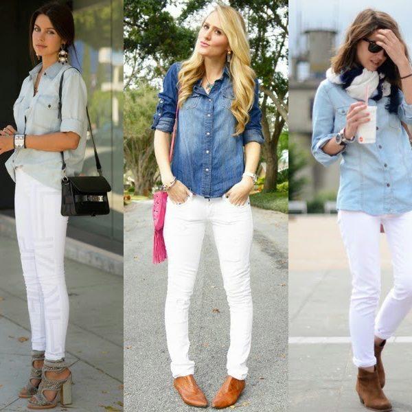 Tips para usar pantalones blancos