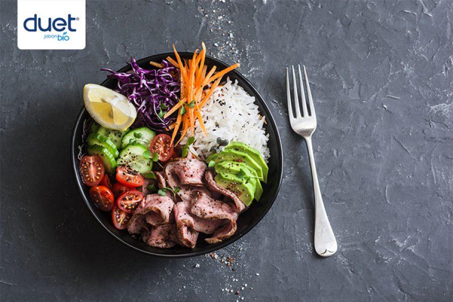 Prepara una cena saludable